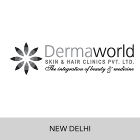 digital marketing and designing services for dermaworld skin and hair clincs