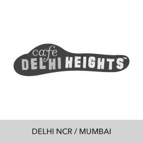 social marketing and designing services for cafe delhi heights
